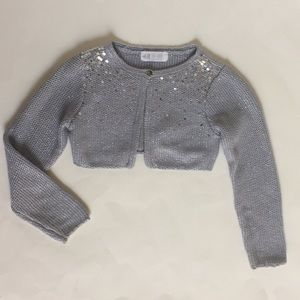 H&M Toddler Girl  dress covers, sparkling sweater